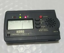 Korg Chromatic Tuner CA-30 tune guitars,bass instruments, orchestras and more