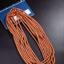 Natural Rudraksha Mala 108 oración budista Collares Pulsera De Perlas 6/8/10mm