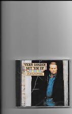 "VERN GOSDIN, CD ""SET'EM UP"" NEW SEALED"
