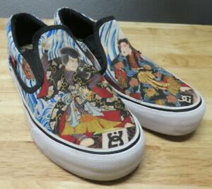 DC SHOES x Atmos x Three Tides Tattoo Slip On Loafer Tokyo Samurai Japan USA 5