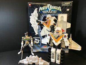 1997 COMPLETE - Power Rangers In Space Deluxe Mega Winger