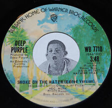 Classic Rock 45~DEEP PURPLE~Smoke On The Water (Studio / Live Edit)~Warner Bros