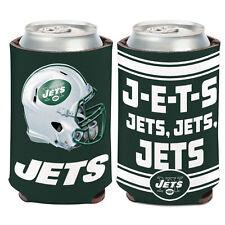 New York Jets Can Cooler 12 oz. NFL Koozie