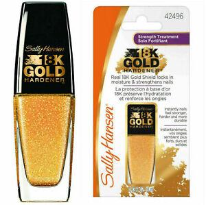Sally Hansen 18K Gold Hardener Nail Care Treatment, 10 ml