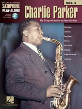 Charlie Parker Saxophone Play-Along Book Audio Online NEW 000118286