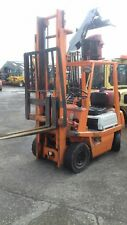 toyota gas forklift 1.5 ton  in very good order hire £70 or for sale
