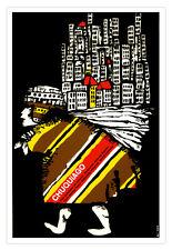 """Movie Poster for film""""Chuquiago"""" Bolivian film art.Home interior wall decor"""