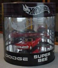 100% Hot Wheels Dodge Super Bee Limited Edition Oil Can 1/15,000