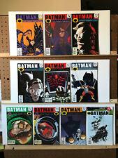 Batman 578 587 588 589 590 592 593 594 595 596 DC Comics 2000-2001 Gordon Shot