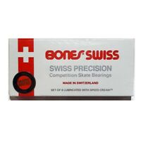 Bones Skateboard Bearings Swiss Skate Rated Precision