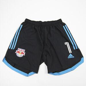New York Red Bulls adidas  Athletic Shorts Men's Black/Blue Used
