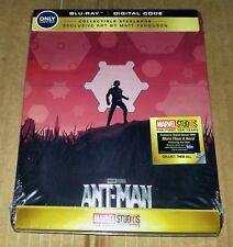 New Marvel Ant-Man 2D Blu-ray / Digital Steelbook Bestbuy Exclusive USA