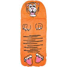 KIDS JUNGLE SLEEPING BAG MATTRESS MAT BED OUTDOOR SLEEP CAMPING TRAVEL TIGER