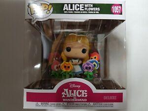 Funko Pop Disney Alice in Wonderland #1057 Alice with Flowers Figure Brand New