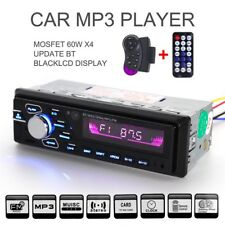 7Colors display Steering wheel Auto Audio Stereo MP3 Player Bluetooth FM/AUX/USB