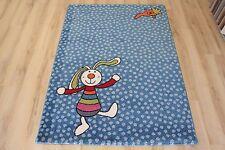 Kinderteppich Spielteppich Sigikid SK-0523-01 Rainbow Rabbit 120x170 cm blau