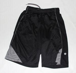 Boys CHAMPION Black Athletic Shorts Size 12-14