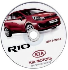 Kia Rio modelo 2011-2017 manual de taller workshop manual