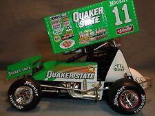 2001 STEVE KINSER QUAKER STATE WORLD OF OUTLAWS 1:24 SPRINT RACE CAR ACTION GMP