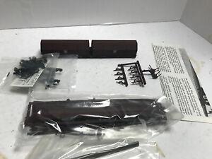 Walther's HO Scale Evans 100-Ton 55' Cushion Coil Car PRR unbuilt kit NIOB