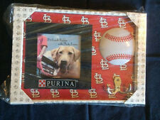 St. Louis Cardinals SGA Purina Pet Leash Holder and Picture Frame