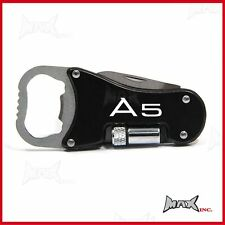 AUDI A5 - Lasered Logo Keyring / Pocket Knife / LED Torch / Bottle Opener