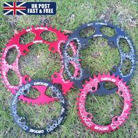 UK Narrow Wide Chainring 32-52t 104BCD MTB Bike Round Oval Chainwheel CNC Bolts