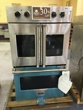 """#Oc0090 Vdof7301Ss 30"""" Viking Professional 7 Series French Door Double Wall Oven"""