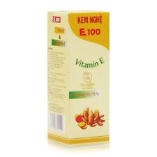 05 tubes of Turmeric Cream Vitamin E Nourish Skin Anti Scar Shipping Optimized