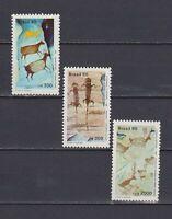S19155) Brasil Brazil 1985 MNH New Brapex VI 3v