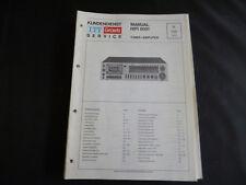 Original Service Manual  ITT Graetz Hifi 8051