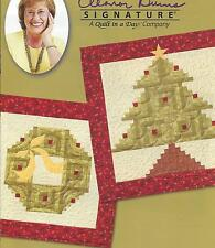 Holiday Wreath and Tree quilt pattern by Eleanor Burns of Quilt In a Day