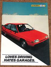 1983 CITROEN BX brochure de lancement-BX14, BX16, e, re, TS, trs