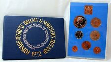 1972 ROYAL MINT PROOF SET  COINAGE OF GREAT BRITAIN & NORTHERN IRELAND TONE FREE