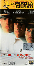 VHS=Codice d'onore (1992) VHS
