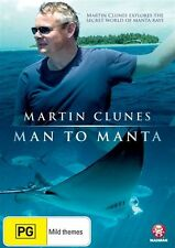 Martin Clunes - Man to Manta: In Search of the Giant Ray NEW R4 DVD