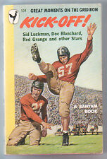 "1948-""KICK-OFF""--FOOTBALL STORIES--PAPERBACK-NMT"