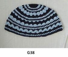 Kippah Freak Blues Kippa Knit Yamaka Kippot Frik Kippot Judaica Yarmulke Crochet