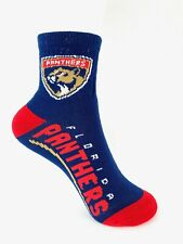 Florida Panthers Hockey Youth Team Logo Quarter Socks