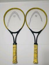 Pair ofAndre Agassi Spark Head Radical Performance Racquet Oversize 3 7/8 XSL00