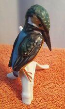 West Germany Goebel Common Kingfisher bird Figurine