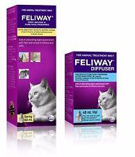Feliway 48mL Genuine Diffuser Refill & Feliway Genuine 60mL Spray