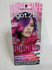 Schwarzkopf Got2b Unlimited Semi-Permanent Hair Color 110 Sunburst Collection