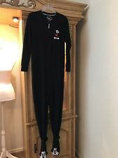 Disney Size Xsmall Color Black Sleepwear One Piece Adult Mickey Mouse