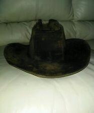 The Duke Collection Cotton Cowboy Hat Western sz s 6 3/4 x 6 7/8