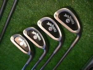 JACK DANIELS ULTRA RARE  Irons and Woods Set ! BIRTHDAY Or Holiday GIFT