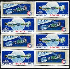 Double block Scott # 1569-70 10 cent Apollo-Soyuz  OG NH