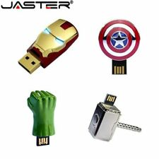 Captain America Iron Man USB Flash Drive Avengers Pendrive 4-64GB
