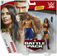 WWE Mattel Andrade Cien Almas / Zelina Vega Battle Packs 62 Basic Figures