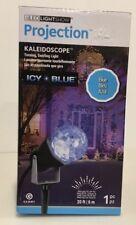 Gemmy LED Lightshow Projection Kaleidoscope Light - Icy Blue - NIB